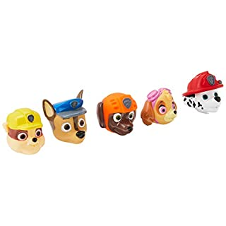 Nickelodeon Paw Patrol Bath Squirter, 5 Pack