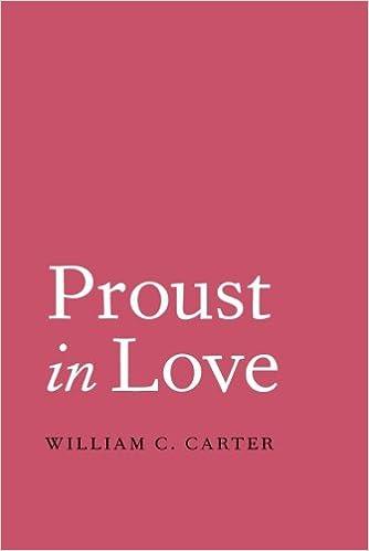Book Proust in Love