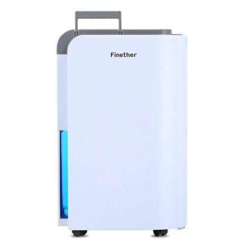 Finether Dehumidifier Home Dehumidifier Air Dehumidifier Moisture 12L/D...