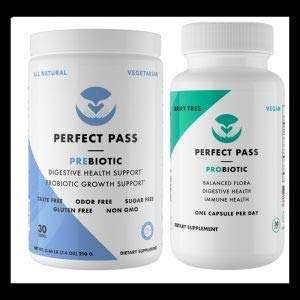 Perfect Pass Combo Pack: Prebiotic & Probiotic by PERFECT PASS