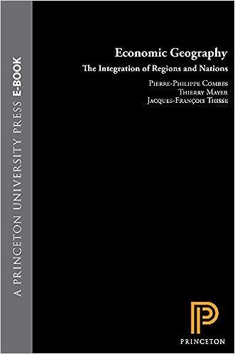 Economic Geography Ebook