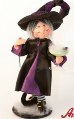 Annalee Mobilitee Doll Halloween Witches Cocktail 10""