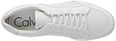 Calvin Klein Men's Masen Box Leather Sneaker