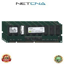 A6170A 4GB HP PC100 168-pin Registered ECC SDRAM DIMM Kit 100% Compatible memory by NETCNA USA (Pc100 Pin 168 Ecc Registered)