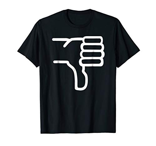 7f632a8e9a1 Thumbs down t shirt the best Amazon price in SaveMoney.es