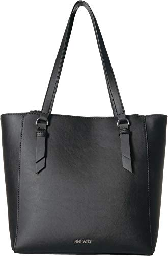Nine West Women's Zella Carryall Tote Black One Size (Handbags Nine West)