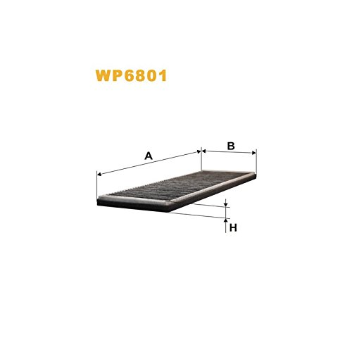 Wix Filters WP6801 Cabin Air Filter: