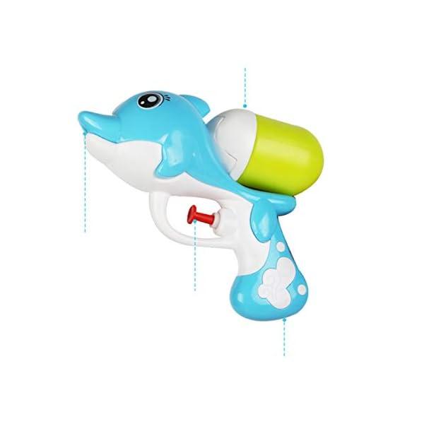 Swiftswan Pistola ad Acqua a Pressione per Bambini Cartoon Beach Pistola ad Acqua per Delfini da Spiaggia Gioca a… 3 spesavip