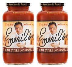 Emeril's Home Style Marinara Pasta Sauce 25 oz. Jar (2 COUNT) (Pack of 1)