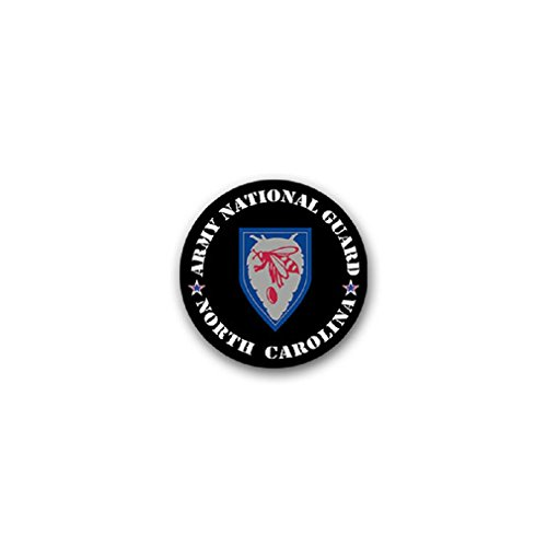 - North Carolina Army National Guard Military Force United States US badge emblem for Audi A3 BMW VW Golf GTI Mercedes (7x7cm) - Sticker Wall Decoration