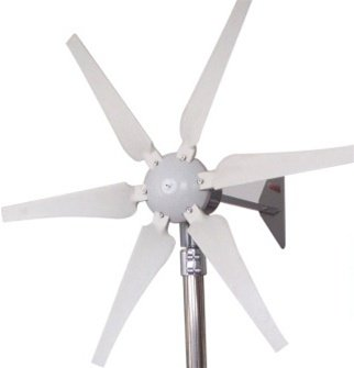 ALEKO WG400 400 Watt 24-Volt 6-Blade Wind Generator With Charge Controller by ALEKO