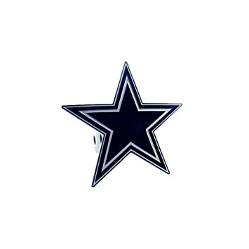 Siskiyou Sportsfths055s Large Logo Only Nfl Hitch Cover Dallas