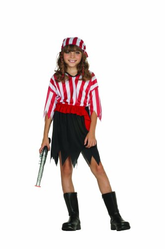 RG Costumes Pirate Girl, Child Large/Size 12-14 (Girl Pirates)