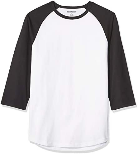 Amazon Essentials Slim fit Baseball T Shirt product image