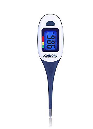 et underarm bath Concord Health Supply Thermom/ètre num/érique avec grand /écran lcd r/étro-/éclair/é pointe flexible et 4 modes: voie orale rectale