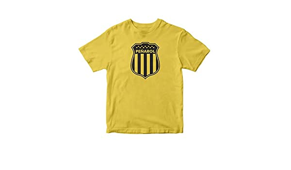 TJSPORTS Club Atlético Peñarol T Shirt Camiseta Uruguay Futbol Yellow at Amazon Mens Clothing store: