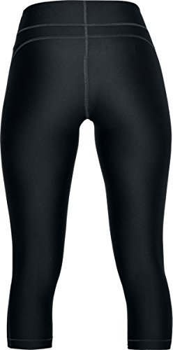 metallic Capri Sportivi Hg 017 Armour Silver Pantaloni Under Ua anthracite Nero Print Donna wxqZCIfvn