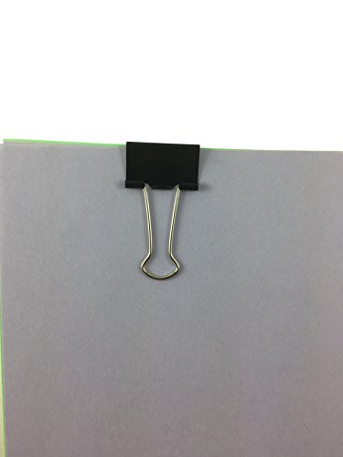 Clipco Binder Clips Small 1-Inch Black (144-Pack) Photo #3