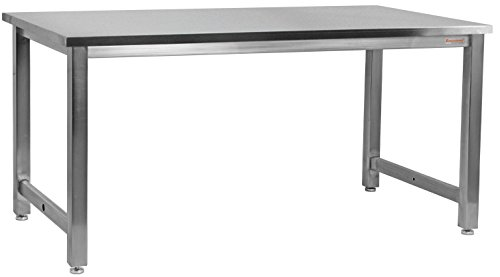 BenchPro KSN2430 Kennedy Workbench with Stainless Steel Frame and Top by BenchPro
