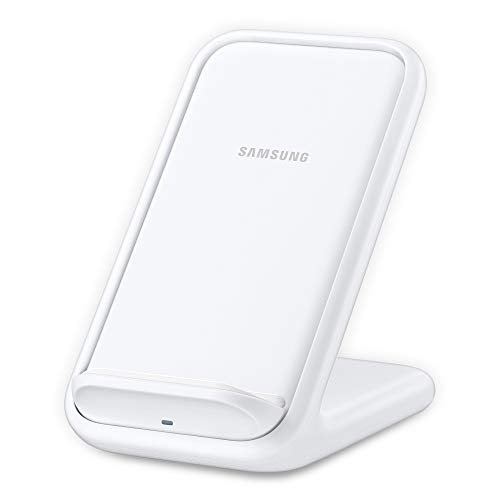 Samsung 15W Fast Charge 2.0 Wireless Charger Stand - White (US Version with Warranty)