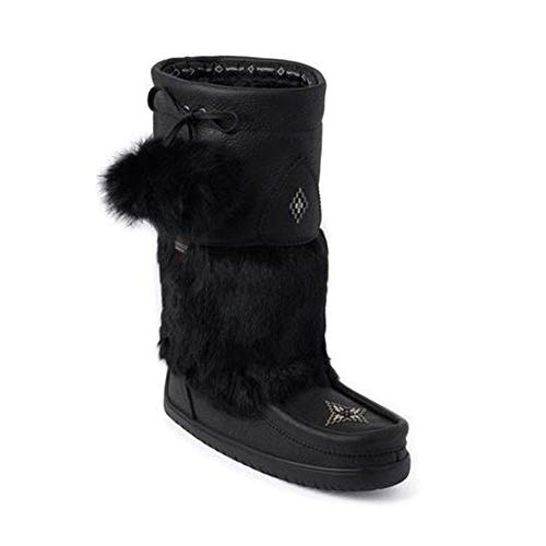 erproof Snowy Owl Grain Mukluk Black Boot - 9 ()