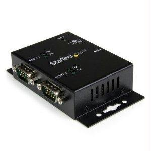 Startech Add 2 Din Rail-Mountable Rs232 Serial Ports To Any System Through Usb - Usb To S