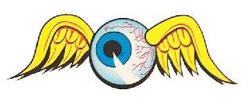 Nostalgia Decals Von Dutch Flying Eyeball Decal 5