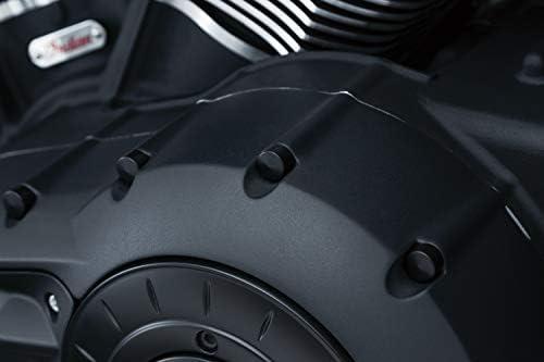 Kuryaykn Gloss Black Kool Kaps Engine Kit for Harley Evolution and Twin Cam Engines