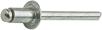 Aluminum Pop Rivets 3//16 x 1 Dome Head Blind 6-16 Gap .876-1.00 Quantity 50 by Fastenere