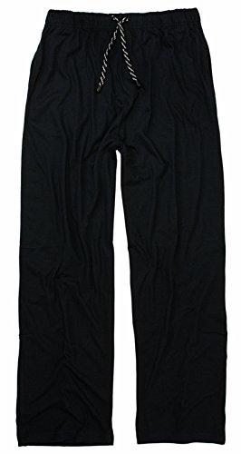 Adamo Schlafanzughose lang 4XL-62/64 Schwarz