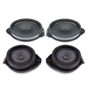 OEM NEW BOSE Door Speaker Complete Set (4) GM Trucks & SUVs 22743232 & 22753374