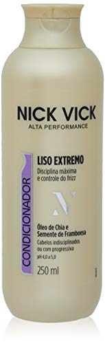 Condicionador Liso Extremo, Nick & Vick, 250ml