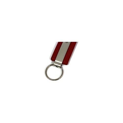 DanteGTS Ford Explorer Leather Key Chain Red Rectangular Key Ring Fob Lanyard