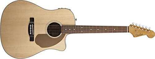 Guitarra Acústica Amplificada Fender Sonoran Sce Natural: Amazon ...