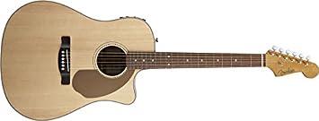 Guitarra Acústica Amplificador FENDER SONORAN SCE NATURAL ...