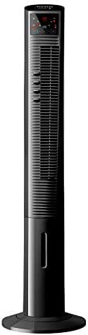Taurus TMF1500 Ventilatore a torre con nebulizzatore d\'acqua, Oscillante, altezza 120 cm, 3 velocità, 3 modalità di funzionamento, timer 12 ore, telecomando, 90 W