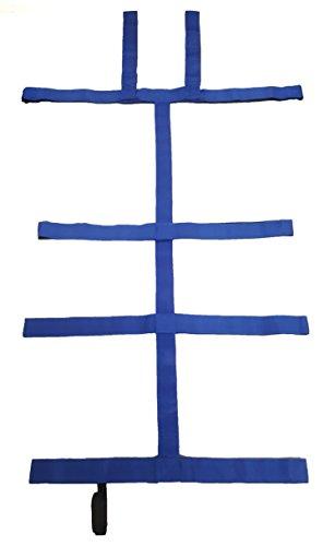 LINE2design Medical Spineboard 10 Point Strap System Economy Blue