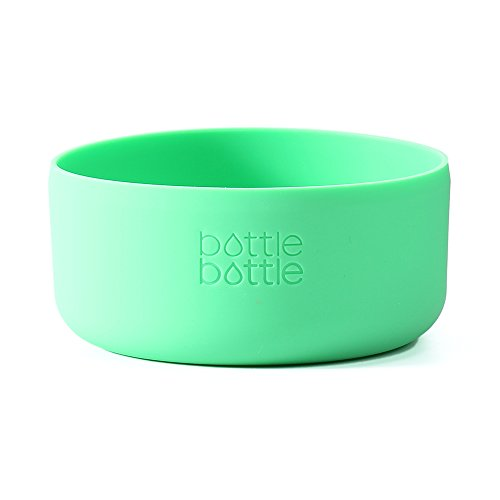 Dish Feeding Accessories (bottlebottle Protective Silicone Sleeve for Hydro Flask, Portable Travel Pet Bowl for Dog Cat Food Water Feeding, BPA Free Anti-Slip Bottom Cover Cap for Stainless Steel Water Bottle, Dishwasher Safe)