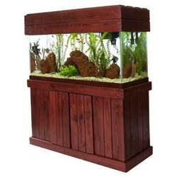 Perfecto Manufacturing APF67243 Majesty Stand for Aquarium, 24 by 12-Inch, Black