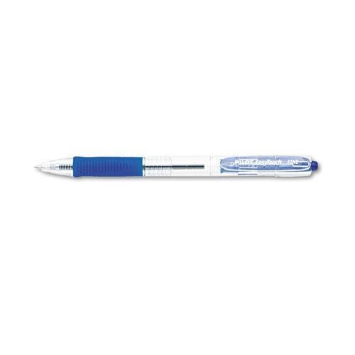 [Pilot 32211 EasyTouch Retractable Ball Point Pen, Blue Ink, .7mm, Dozen] (Easy Touch Ballpoint Pen Refillable)