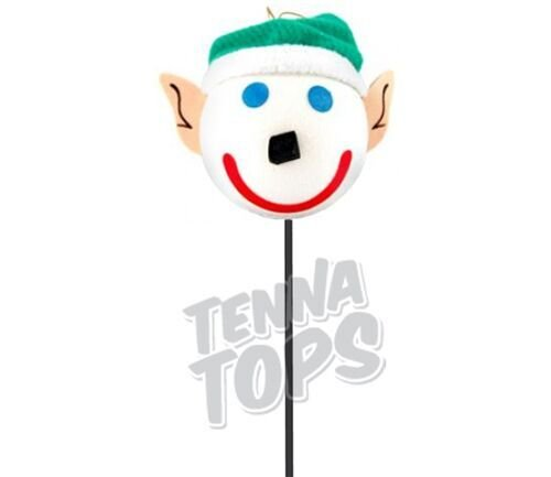 Jack in the Box - ELF Car Antenna Topper + Yellow Smiley Antenna Ball