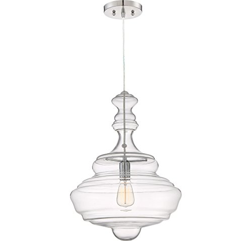 Large Circular Pendant Light - 3