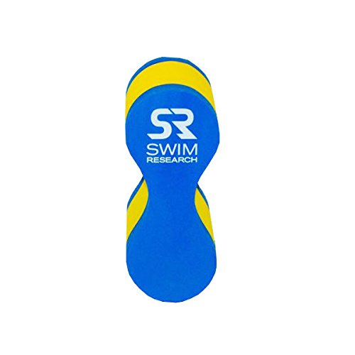 Swim Training Aid Pull Buoy for Upper Body Strength and Aquatic Water Exercise – Swimming Pool Equipment Foam Pull Buoy by Swim Research (Junior Sizing)