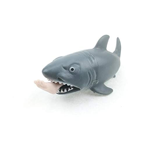 Squeeze Toy Shark 12cm, Funny Squeeze Toy Shark Stress Relief Ball MTSZZF