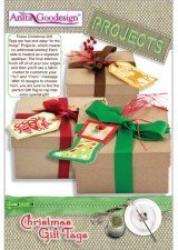 Anita Goodesign ~ Christmas Gift Tags ~ Projects ~ Embroidery Designs by Anita Goodesign