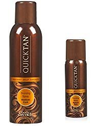 Body Drench Quick Tan Instant Self Tanning Spray Medium Dark, 8 Ounces (Pack of 3) by Body Drench