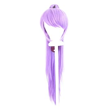 40/'/' Wavy Pony Tail Base Chocolate Brown Cosplay Wig NEW