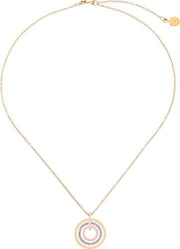 Michael Kors Women's Pave Small Rings Pendant Tri Tone One Size -