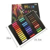 Temporary Hair Chalk Set Non-Toxic Hair Color Cream Rainbow Color Hair Dye(36pcs) by Mily (Image #2)
