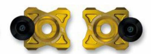 Driven Racing Axle Block Slider - Gold DRAX-113-GD by Driven Racing